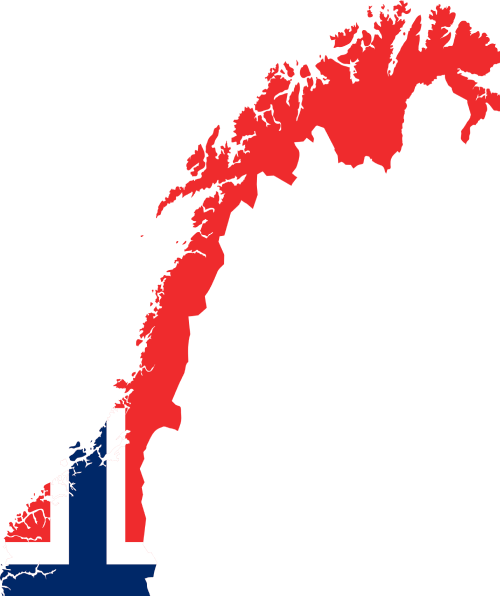 map Norwegian